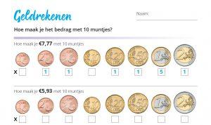 Eurowijs rekenbladen